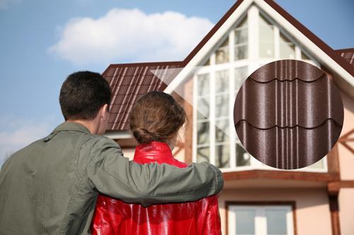 Tôn Zacs Hoa Cương mới áp dụng công nghệ G-Tech cho mái nhà vẻ đẹp óng ánh sang trọng